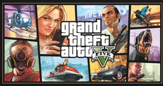 GTA5 jeu vidéo