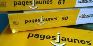 Bottin page jaune