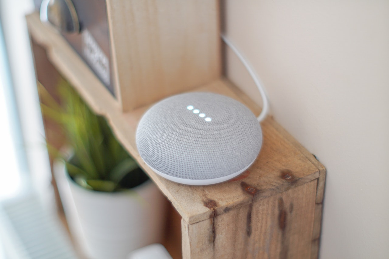 High-tech, Google home connecté