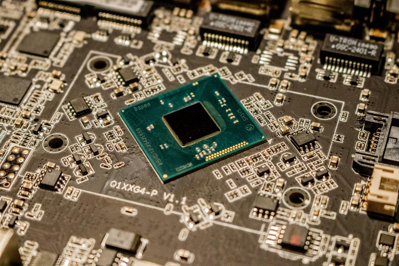 Interieur d'un ordinateur, processeur