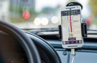 navigation gps sur téléphone