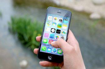 applications sur un ecran d'iphone